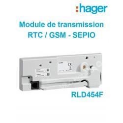 RLD454F - Module de transmission. RTC/GSM/GPRS pour alarme SEPIO - Hager