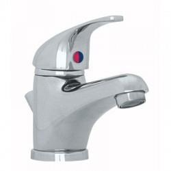 Robinet pour lavabo mono-trou MEDELET chromé avec vidage  - CRISTINA ONDYNA ME10851