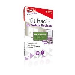 Kit radio centrale 3x Volet Roulants - YOKIS KITRADIO3VRP