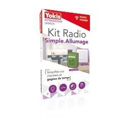 Kit radio simple Allumage Power - YOKIS KITRADIOSAP