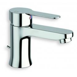 Mitigeur pour lavabo monotrou NF vidage avec tirette en métal JUNIOR - CRISTINA ONDYNA JR22551
