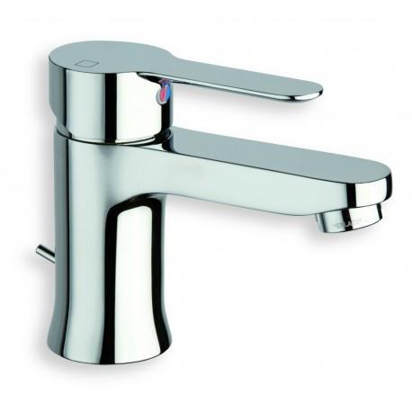 Robinet mitigeur pour lavabo monotrou NF vidage avec tirette en métal - CRISTINA ONDYNA JUNIOR JR22551