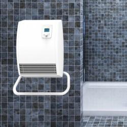 Chauffage soufflant de salle de bains HELIOS DS 1000/2000W - NOIROT 00L1087FDEZ