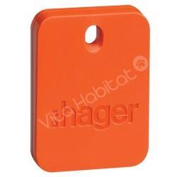 Badge RLF101X alarme SEPIO - Hager
