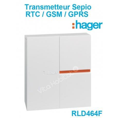 RLD464F - Transmetteur RTC/GSM/GPRS SEPIO - Hager