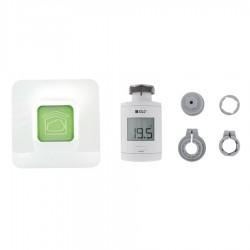 Pack connecté de têtes thermostatiques intelligentes avec adaptateurs PACK TRV 1.0 CONNECTE - DELTA DORE 6050650