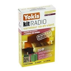 Kit Radio Variation Va-Et-Vient Power - YOKIS KITRADIOVARVVP KITRADIOVARVVPYOKIS