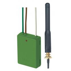 Emetteur radio à encastrer 2 canaux - YOKIS E2BPPX