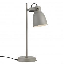 ADRIAN lampe de table Métal et plastique Gris E27  - Nordlux 48815011