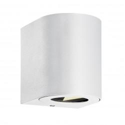 CANTO 2 applique murale Aluminium Blanc LED integrée 2700K - Nordlux 49701001