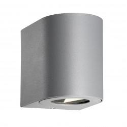 CANTO 2 applique murale Aluminium Gris LED integrée 2700K - Nordlux 49701010