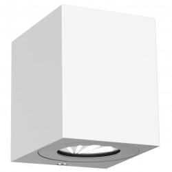 CANTO KUBI 2 applique murale Aluminium Blanc LED integrée 2700K - Nordlux 49711001
