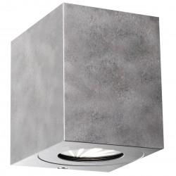 CANTO KUBI 2 applique murale Métal Galva LED integrée 2700K - Nordlux 49711031