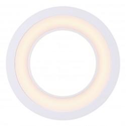 CLYDE 15 spot encastré Plastique Blanc LED integrée 2700K - Nordlux 47510101