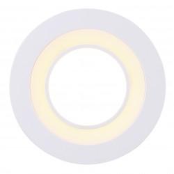 CLYDE 8 spot encastré Plastique Blanc LED integrée 2700K - Nordlux 47500101