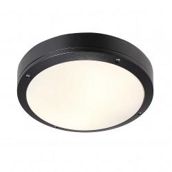 DESI 28 plafonnier Aluminium-Plastique Noir E27  - Nordlux 77646003