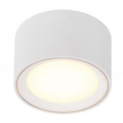 FALLON plafonnier Métal et plastique Blanc LED integrée 2700K - Nordlux 47540101
