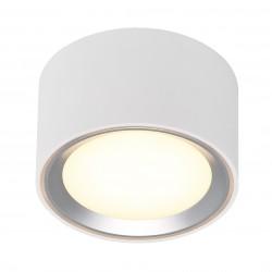 FALLON plafonnier Métal et plastique Blanc + Brossé LED integrée 2700K - Nordlux 47540132