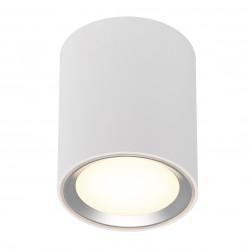 FALLON LONG plafonnier Métal et plastique Blanc + Brossé LED integrée 2700K - Nordlux 47550132