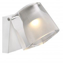 IP S12 applique murale Métal et plastique Blanc LED integrée 3000K - Nordlux 83051001