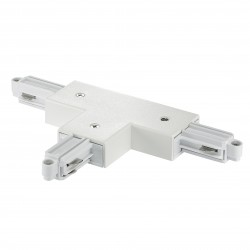 LINK T-CONNECTEUR DROIT accessoire Métal et plastique Blanc   - Nordlux 86059901