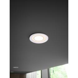 CLYDE 8 spot encastré Plastique Blanc LED integrée 4000K - Nordlux 47650101