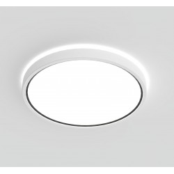 NOXY SDB plafonnier Plastique Blanc LED integrée 3000-4000K - Nordlux 2015356101