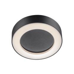 TETON plafonnier Métal et plastique Noir LED integrée 3000K - Nordlux 84136003