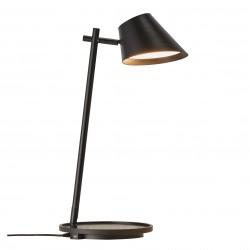 Lampe de table Noire LED Intégrée 14,5W 700lm 2700K STAY - Design For The People by Nordlux 48185003