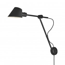 STAY Long  Applique Murale  Noir E27 max 40W - Design For The People by Nordlux 2020455003