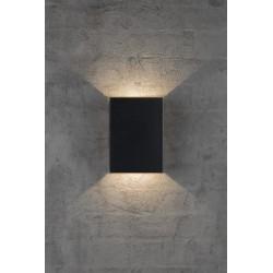 FOLD 15 applique murale Aluminium Noir LED integrée 3000K - Nordlux 2019051003