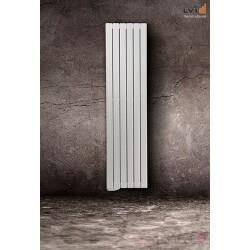 Radiateur LVI - TAMARI V - 1500W FLUIDE - Vertical (haut.2000) - 3634010