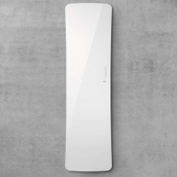 Radiateur sèche-serviettes electrique FOLIO GLASS Blanc Brillant 650W - TFGW-065-042/F ACOVA