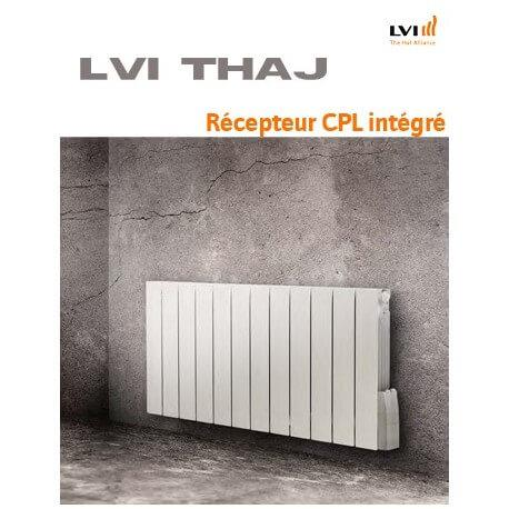 Radiateur LVI - THAJ - 1000W FLUIDE - Horizontal (haut.600) - 3633003
