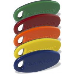 Key5 Pack 5 Badges Bi-Couleur - AIPHONE KEY5 120188