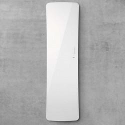 Radiateur sèche-serviettes electrique FOLIO GLASS Blanc Brillant 800W - TFGW-080-052/F ACOVA