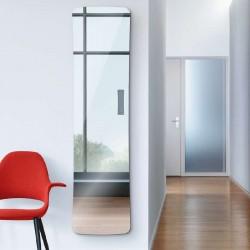Radiateur sèche-serviettes electrique FOLIO GLASS Miroir 650W - TFGM-065-042/F ACOVA