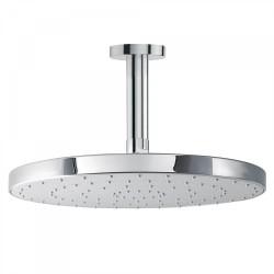 Bras de douche plafond avec pommeau anticalcaire   - TRES 134221