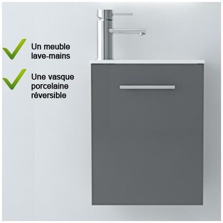Meuble lave-mains et vasque salle de bain SALGAR - MICRO 22517