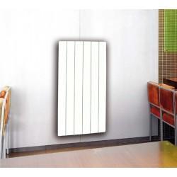 Radiateur à inertie SMART CLASSIC Vertical 800W blanc - Valderoma CC08VES