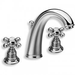 Mélangeur lavabo 3 trous RETRO PARIGI - CRISTINA ONDYNA PG11351