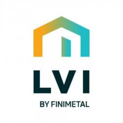 Console de fixation murale TAMARI Vertical Blanc - LVI 4131073