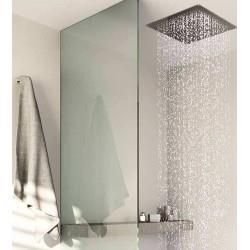 Plafond de pluie format carré 44 cm Hydrotherapie - CRISTINA ONDYNA PD36351