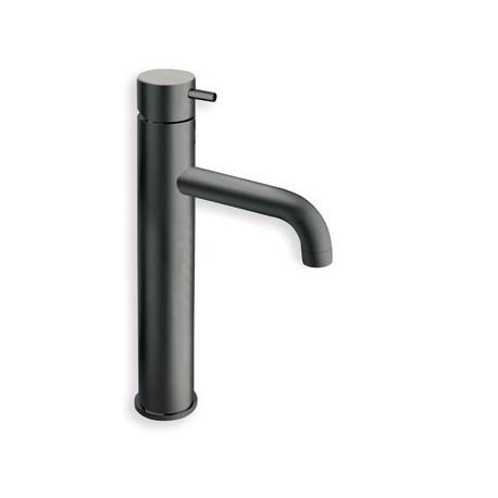 Mitigeur pour lavabo mi haut avec vidage BLACKMAT TRIVERDE - CRISTINA ONDYNA TV22713