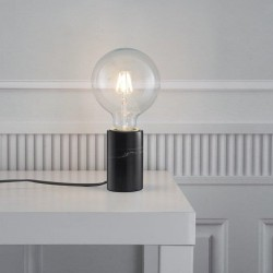 Lampe de table Marbre Noir E27 SIV - Nordlux 45875003