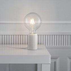 Lampe de table Marbre Blanc E27 SIV- Nordlux 45875001