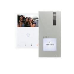 Kit vidéo visiophone mini mains libres QUADRI - COMELIT KVQ2001V