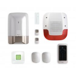 Pack alarme 8 zones sans fil avec box TYXAL+ - DeltaDore 6410190