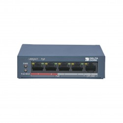 POE SW4 - Switch POE 4 ports - DeltaDore 6417010
