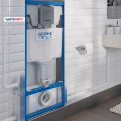 Broyeur adaptable avec bâti-support GROHE à carreler - WATERMATIC WATERWALL